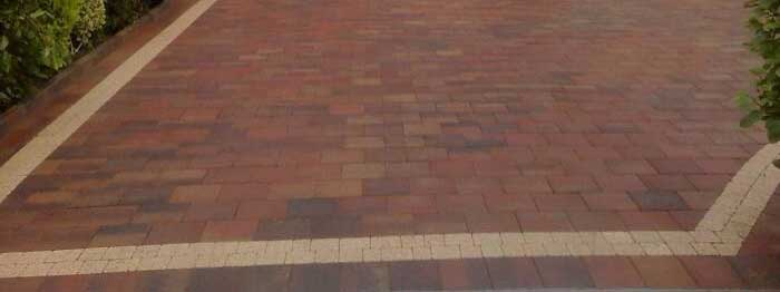 PREVIOUS PAVING WORK