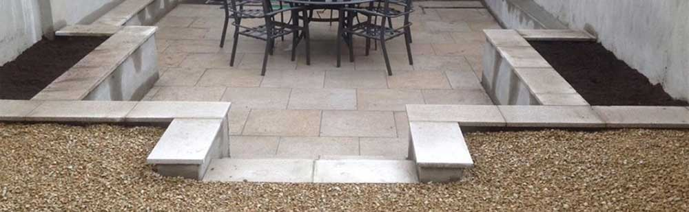PREVIOUS PATIO WORK